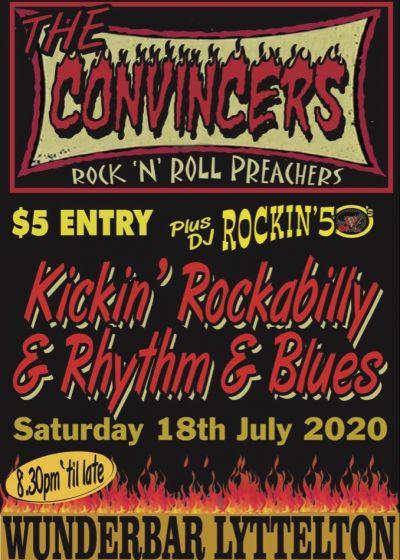 The Convincers: Rock 'n' Roll Preachers