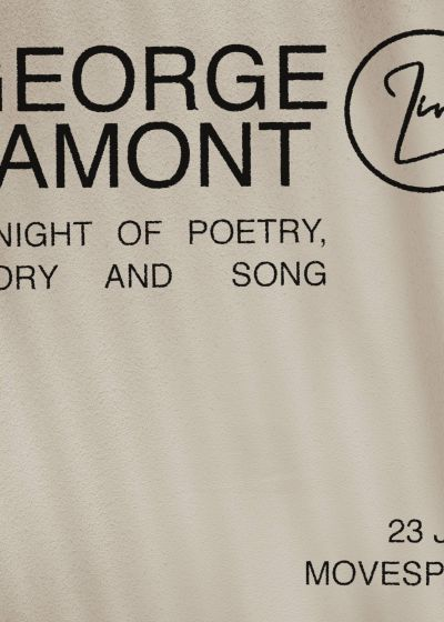George Lamont: A Night Of Poetry, Story and Song