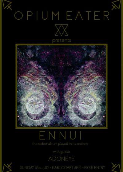Opium Eater Presents: Ennui