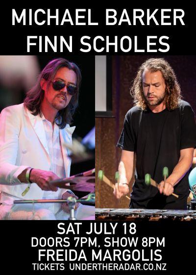 Michael Barker and Finn Scholes