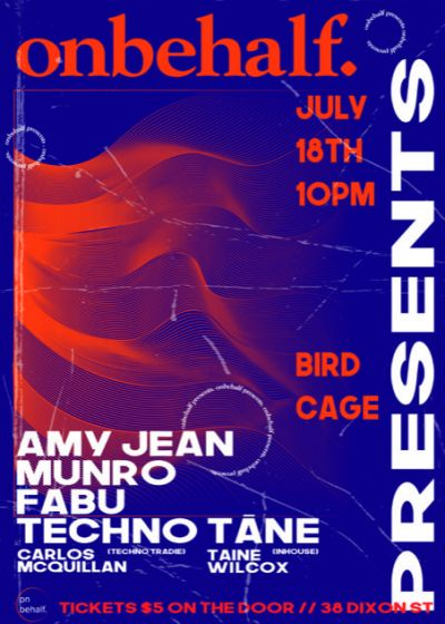 Onbehalf Presents: Cage Sessions Vol. 2