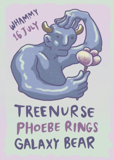 Treenurse, Phoebe Rings and Galaxy Bear - Earth and Beyond