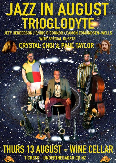 Jazz In August - Trioglodyte w/ Crystal Choi and Paul Taylor
