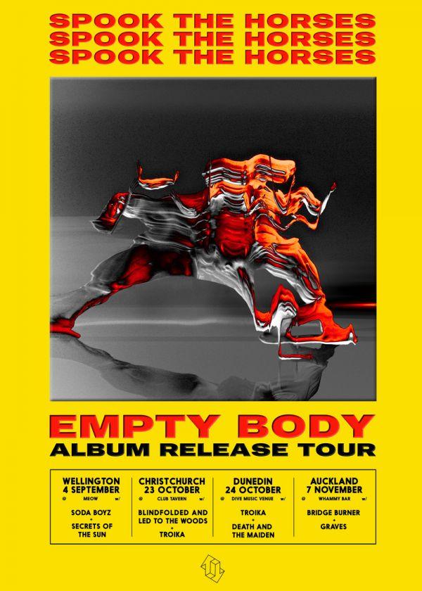 Spook The Horses Album Release Tour