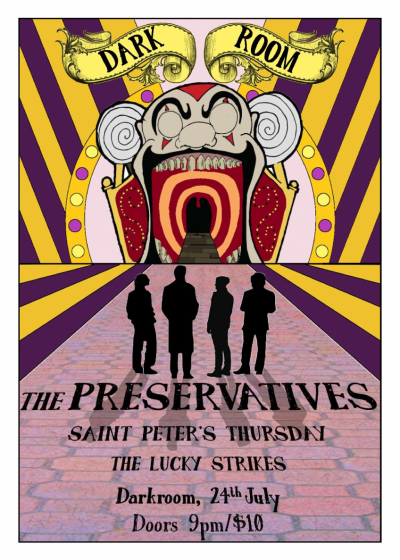 The Preservatives, St Peter's Thursday, The Lucky Strikes