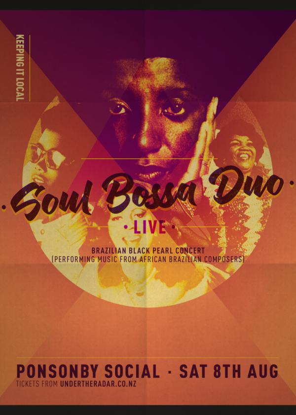 Soul Bossa Duo (Amanda Bovo and Juliana Sian) - Brazilian Black Pearl