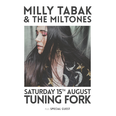 Milly Tabak & The Miltones 'Honest Woman' Album Release! - Postponed