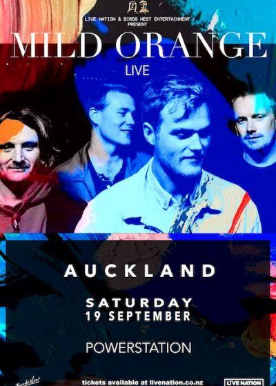 Mild Orange Live - Auckland
