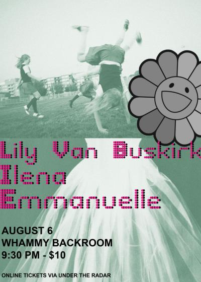 Emmanuelle, Ilena and Lily Van Buskirk
