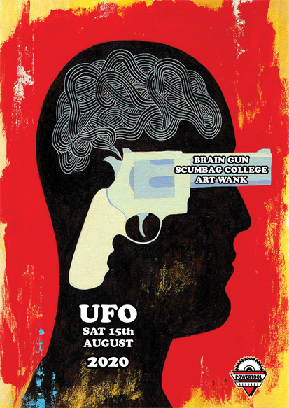 Brain Gun and guests