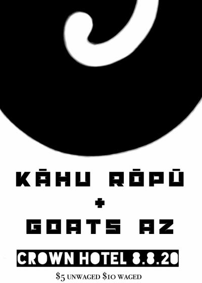 Kāhu Rōpū + Goats Az