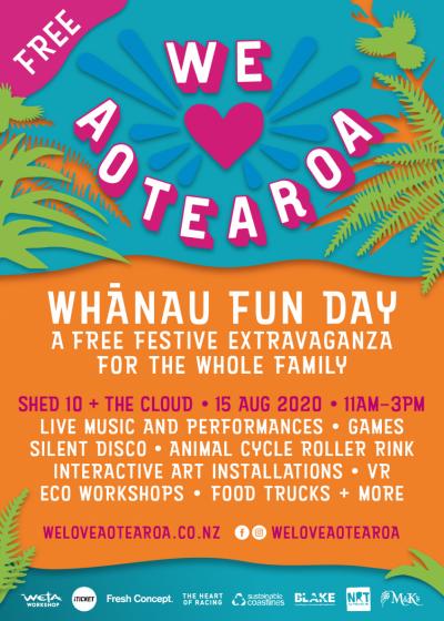 We Heart Aotearoa Whānau Fun Day - Postponed