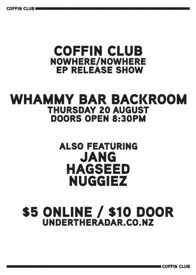 Coffin Club - Nowhere/Nowhere EP Release Show