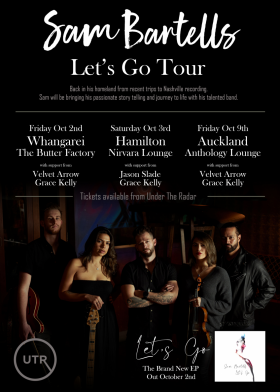 Sam Bartells - Let's Go Tour