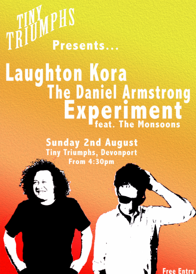 Laughton Kora and The Daniel Armstrong Experiment Feat. The Monsoons