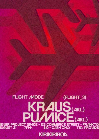 Flight Mode: Kraus, Pumice