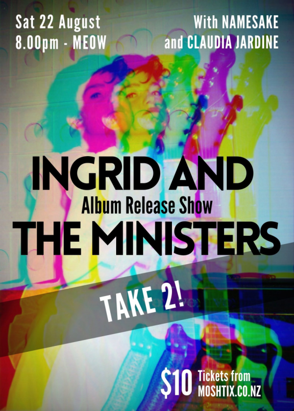 Ingrid And The Ministers Album Release Take 2!