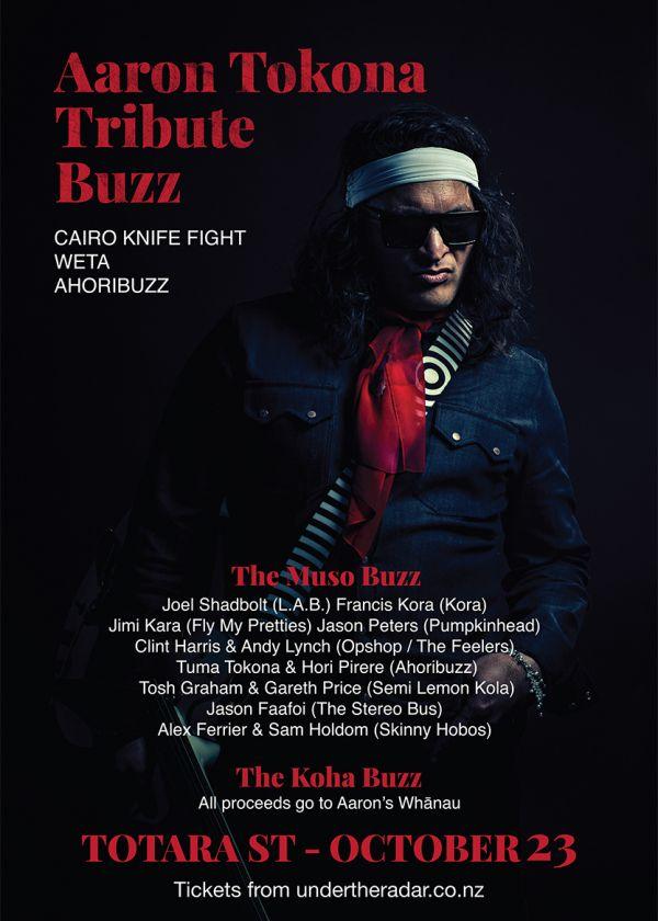 Aaron Tokona Tribute Buzz