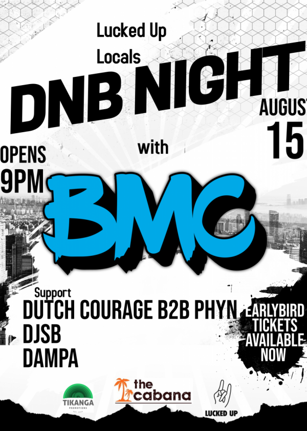 Lucked Up Locals DnB Night