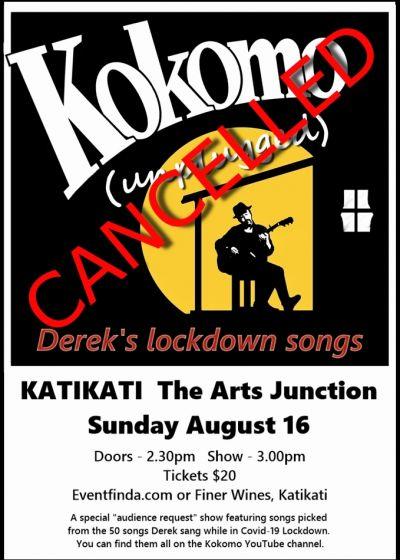 Kokomo (Unplugged) - Derek's Lockdown Songs