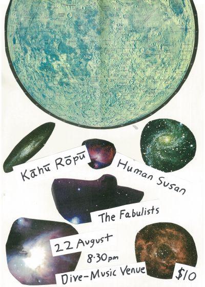 Kāhu Rōpū, Human Susan, The Fabulists