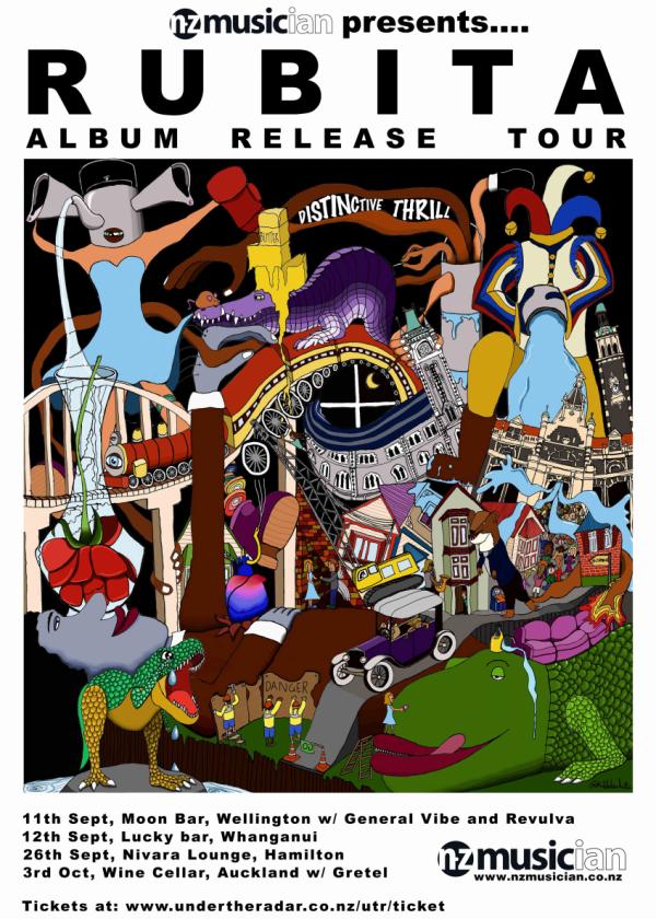 'Distinctive Thrill' Album Tour