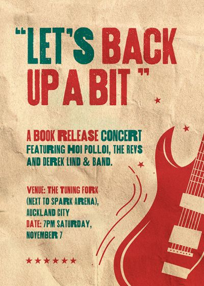 Let's Back Up A Bit | Book Launch Concert