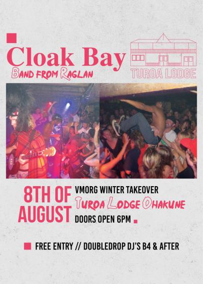 Turoa Live // Cloak Bay Rgln And Corduroy. Wlg