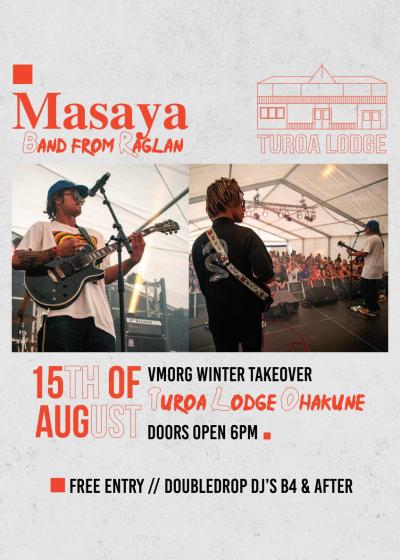 Turoa Live // Masaya - Postponed