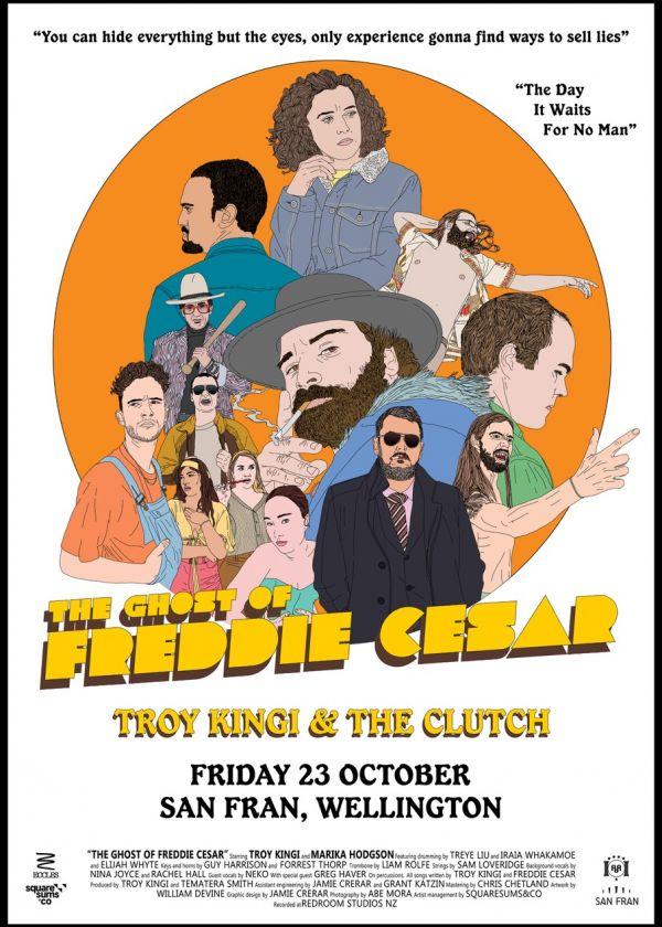 Troy Kingi - 'The Ghost of Freddie Cesar' Album Release Tour