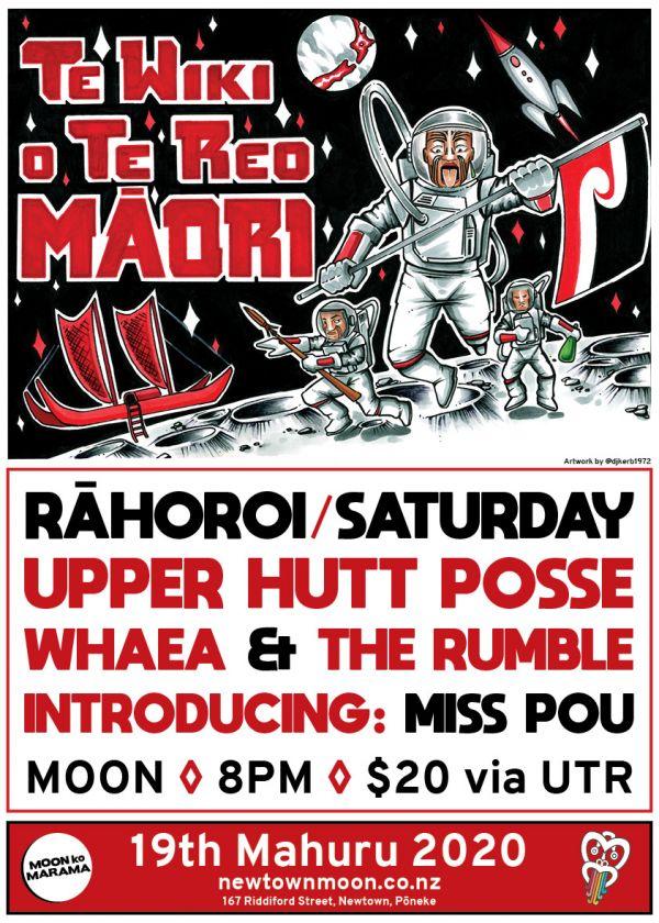 Upper Hutt Posse//Miss Pou//Whaea And The Rumble