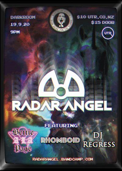 Radar Angel Returns: Feat. Bettie á la Page, Rhomboid and DJ Regress - Cancelled