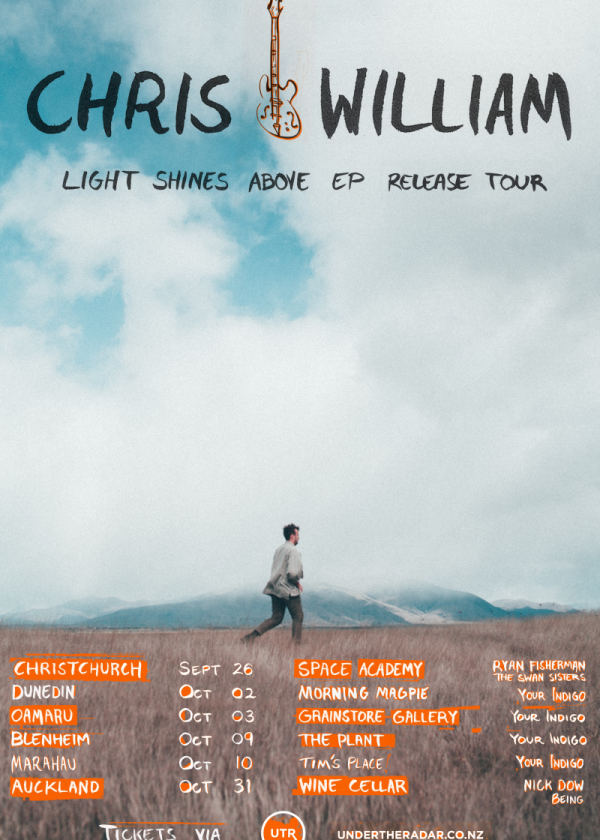Chris William Ep Release + Swan Sisters + Ryan Fisherman