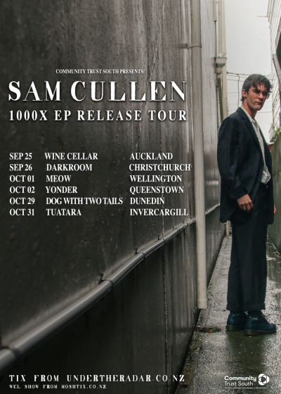 Sam Cullen - 1000X EP Release Tour
