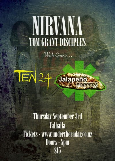 Nirvana/Tom Grant Disciples - Rhcp/Jalapeno Poppers - Ten24