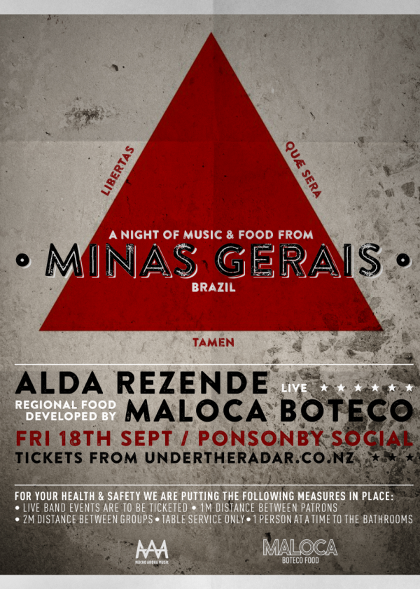 A Night Of Music and Food from Minas Gerais w/ Alda Rezende