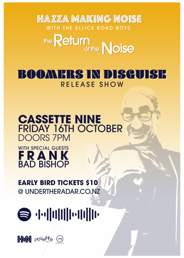Hazza Making Noise: Boomers In Disguise Release Show