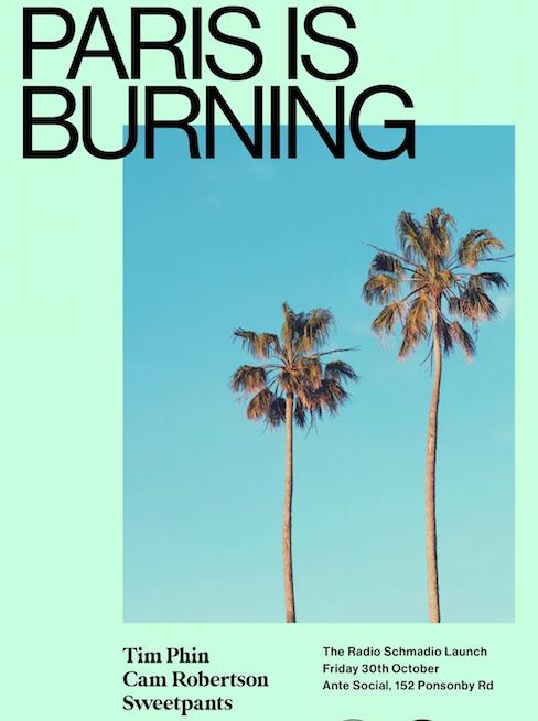 Paris Is Burning X Radio Schmadio