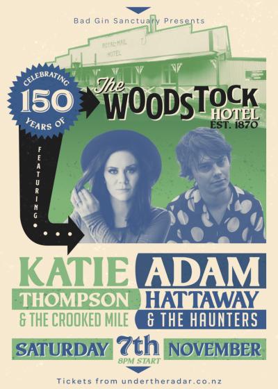 Adam Hattaway And The Haunters ~ Katie Thompson