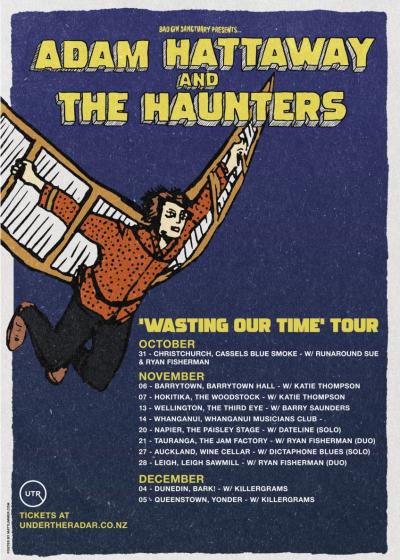 Adam Hattaway And The Haunters ~ Dateline (solo)