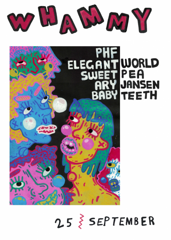 PHF / Elegant World / Sweet Pea / Ary Jansen / Babyteeth - Cancelled