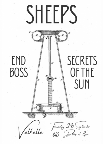 Sheeps With End Boss And Secrets Of The Sun
