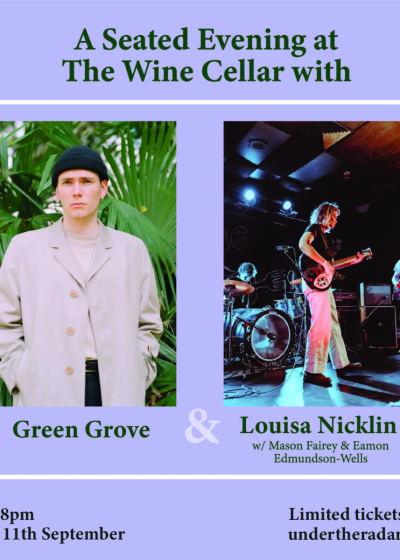 A Seated Evening With Green Grove and Louisa Nicklin