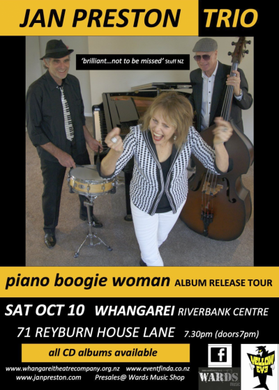 The Piano Boogie Woman Album Release Show