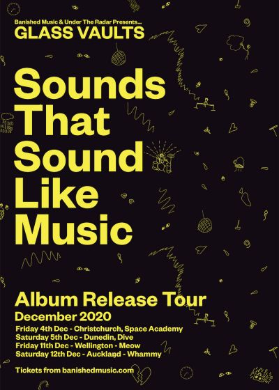 Glass Vaults Sounds That Sound Like Music Album Release Tour