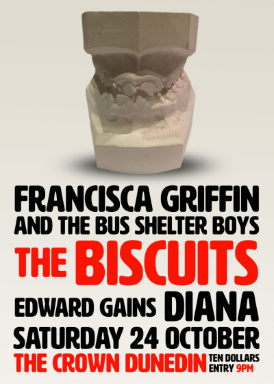 The Biscuits/Francisca Griffin and the Bus Shelter Boys/ Ed Gains/Diana