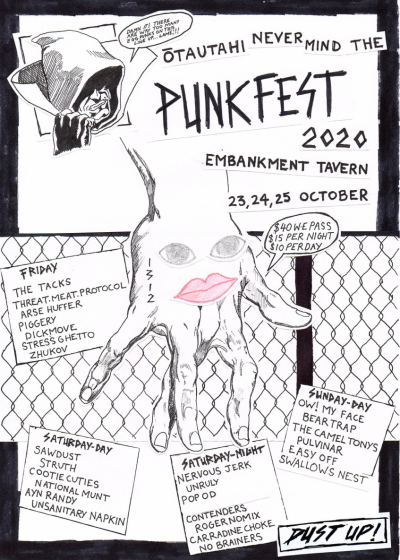 Otautahi Never Mind The Punkfest 2020