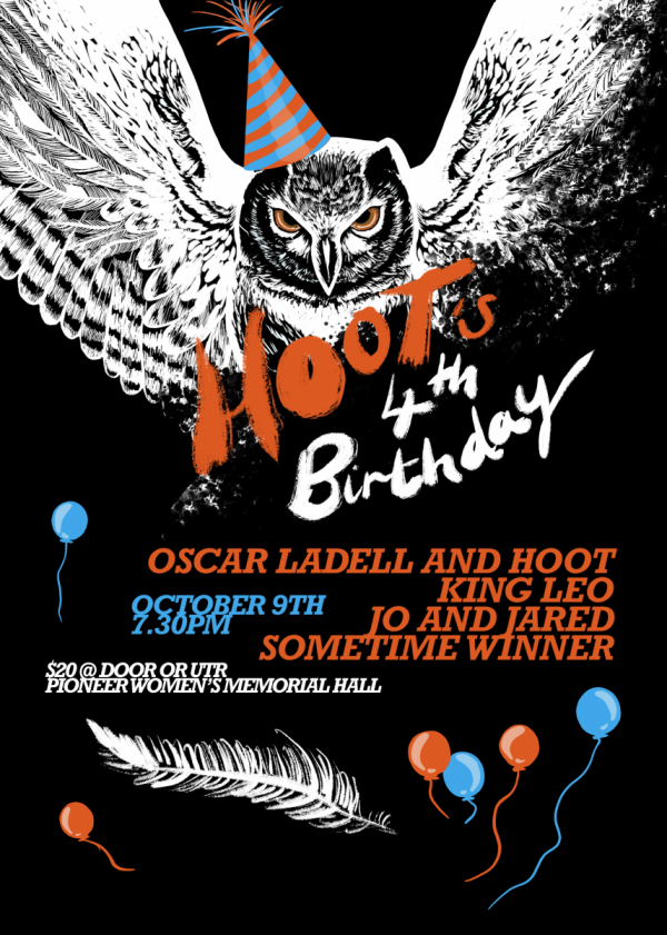 Hoot's 4th Birthday