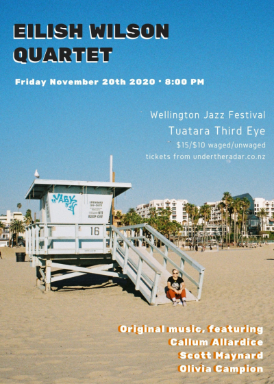 Eilish Wilson Quartet - Wellington Jazz Festival