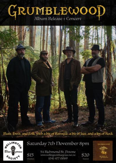 Grumblewood: Album Release and Concert